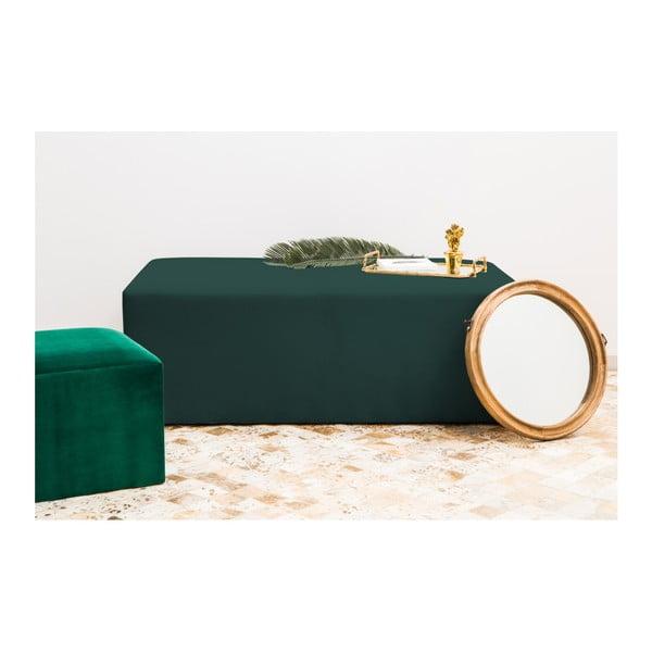 Petrolejově zelený puf Vivonita Grace