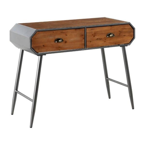 Dřevěný konzolový stolek s kovovými nohami Geese Duke