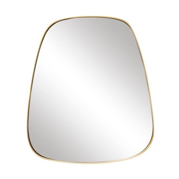 Nástěnné zrcadlo Hübsch Frijolo, 42 x 48 cm