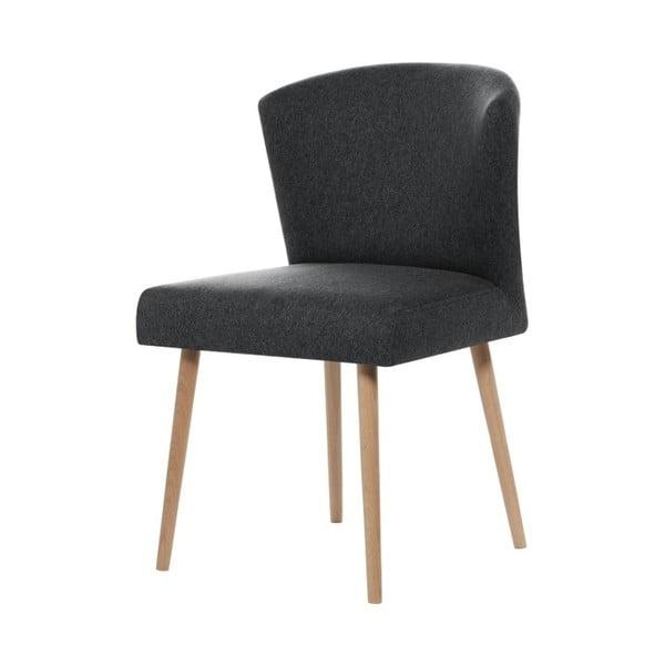 Tmavě šedá jídelní židle My Pop Design Richter