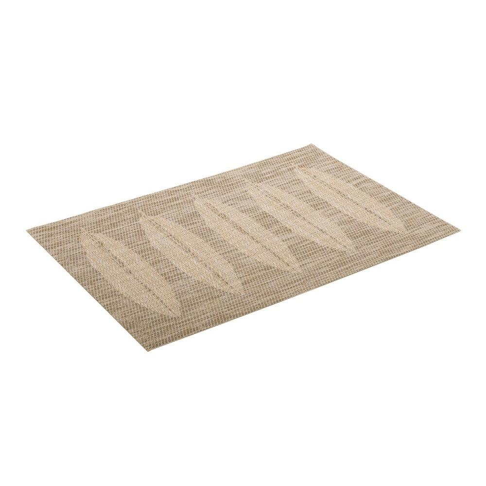 Béžová kuchyňská podložka Unimasa, 45 x 30 cm