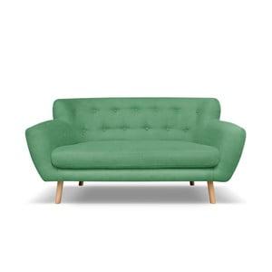Zelená pohovka pro dva Cosmopolitan design London
