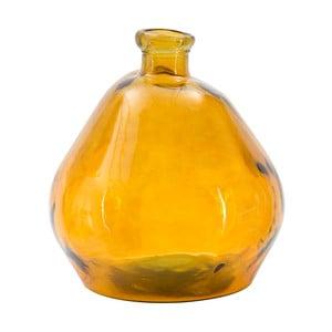 Ornžová váza z recyklovaného skla Mauro Ferretti Bot, výška50cm