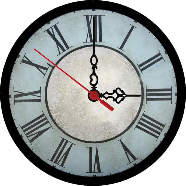 Nástěnné hodiny Vintage Bold, 30 cm