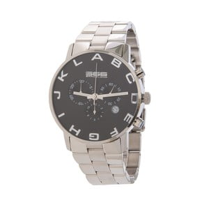 Pánské hodinky Alphabeth Steel Chrono Black