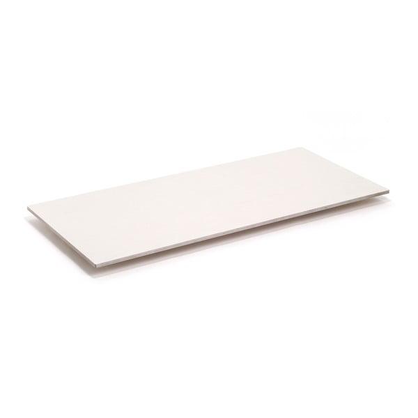 Deska stolu Flat - bělené dřevo, 180x80 cm