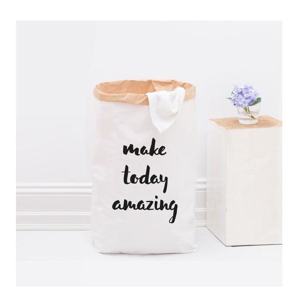 Papírový pytel Make today amazing