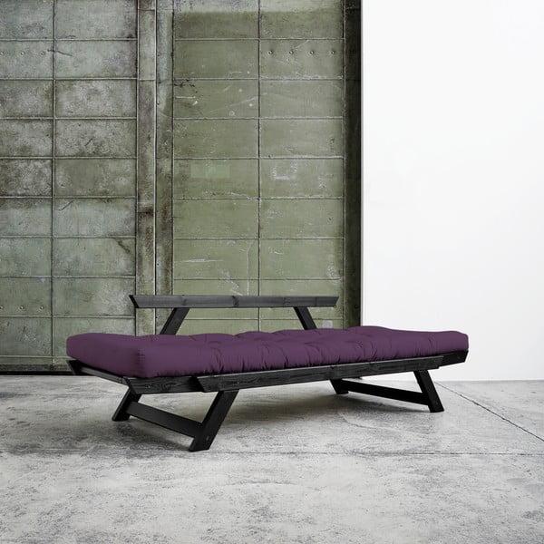 Variabilní pohovka Karup Bebop Black/Purple