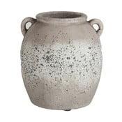 Terakotová váza J-Line Rough, výška23cm