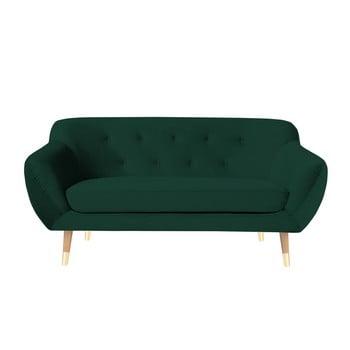 Canapea cu 2 locuri Mazzini Sofas Amelie verde închis