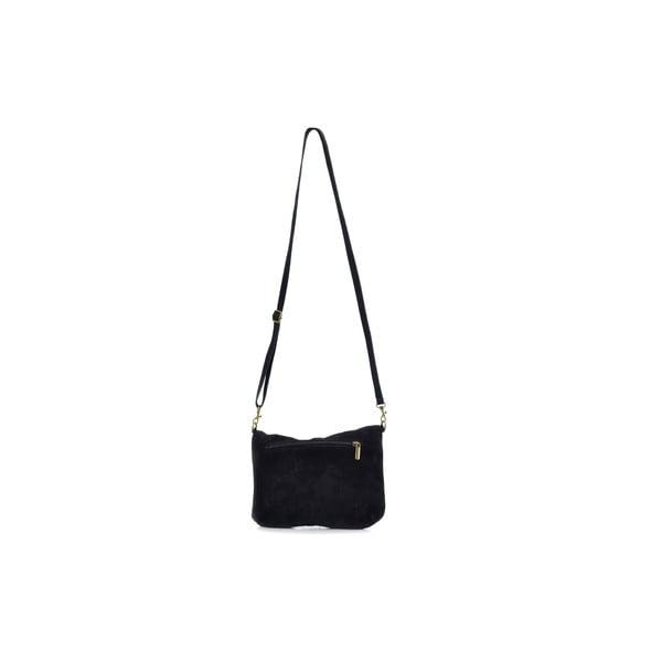Kožená kabelka Julie, černá