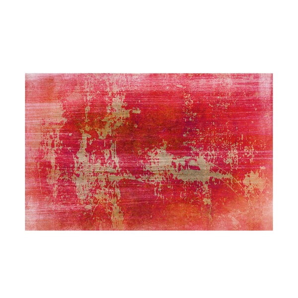 Koberec z vinylu Grunge Rojo, 100x150 cm