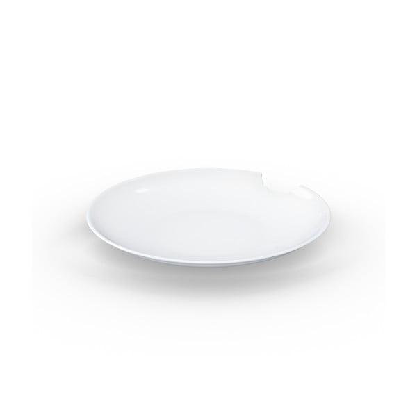 Set 2 farfurii adânci din porțelan 58products, ø 24 cm, alb