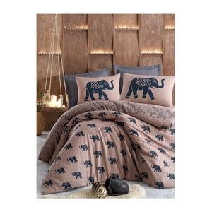 Lenjerie de pat cu cearșaf Filomena, 200x220cm