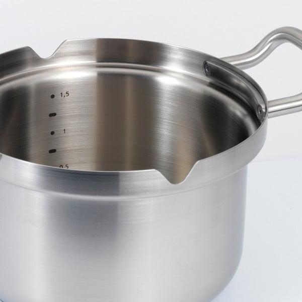 Nerezový hrnec  BK Cookware Q-linair Master Glass, 18 cm