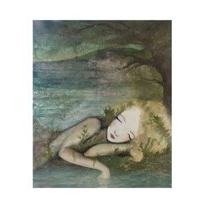 Poster de autor, Léna Brauner, Visând, 51x60cm