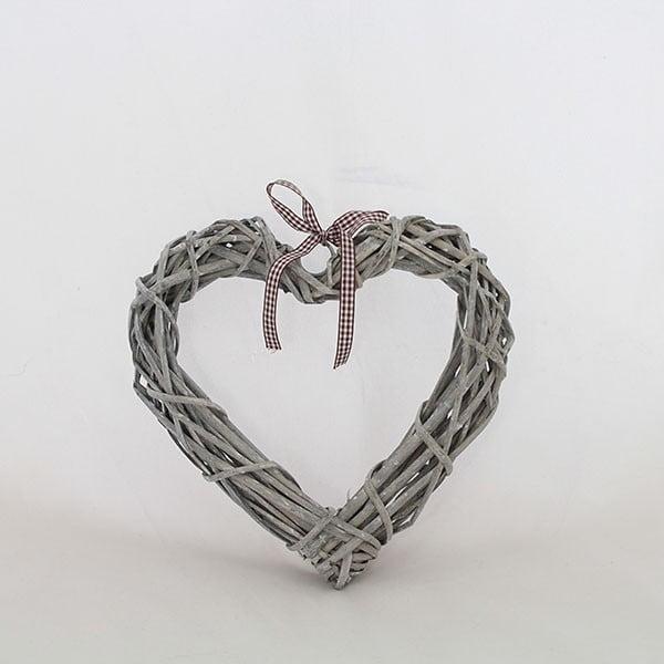 Dekorativní ratanové srdce I