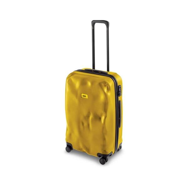 Cestovní kufr Mustard Yellow, 40 l