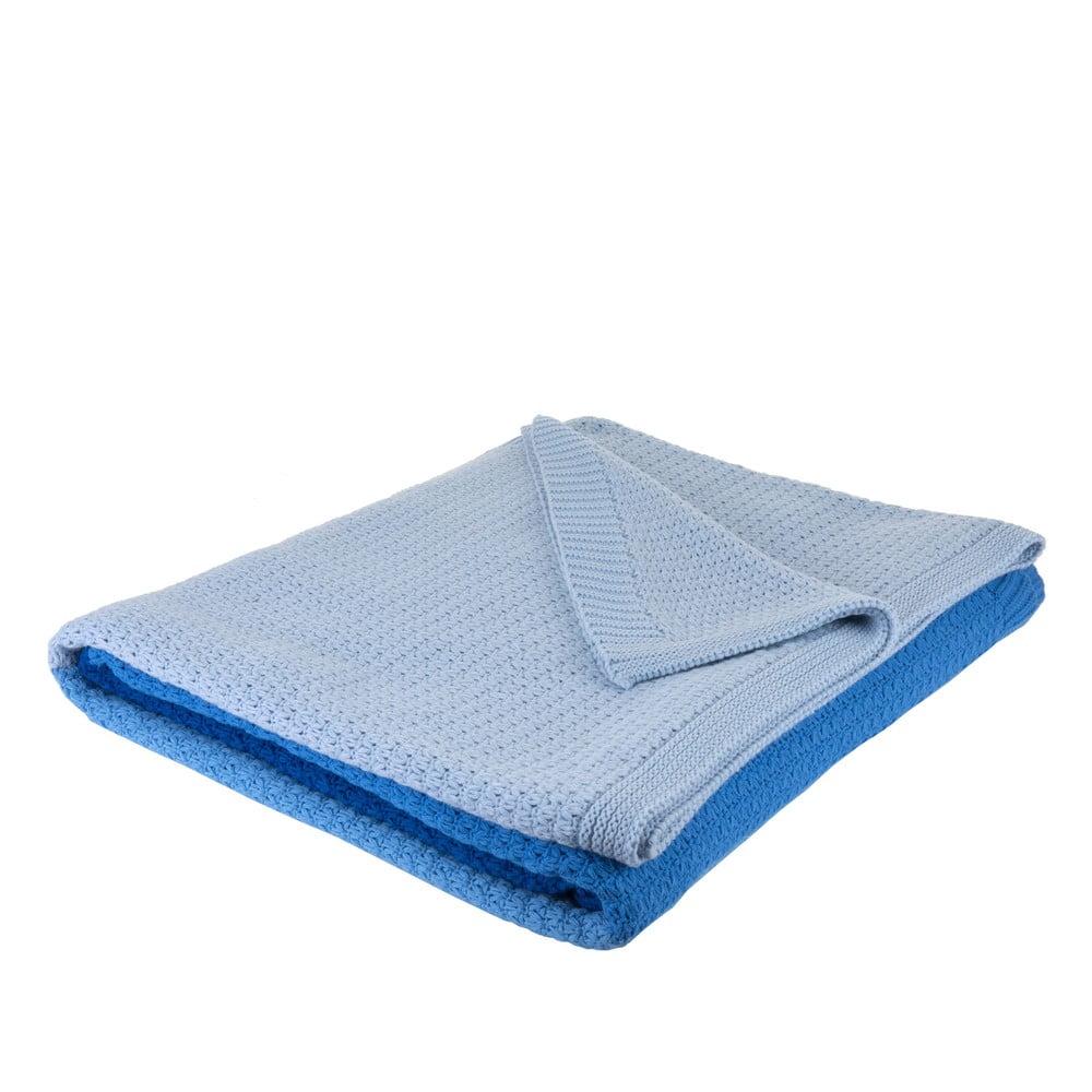 Modrá deka Bella Maison Romano Blanket Double, 200 x 220 cm