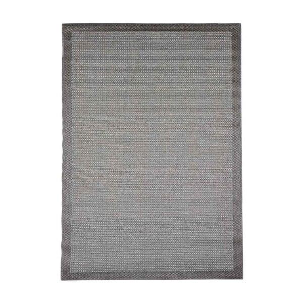 Šedý venkovní koberec Floorita Chrome, 160 x 230 cm