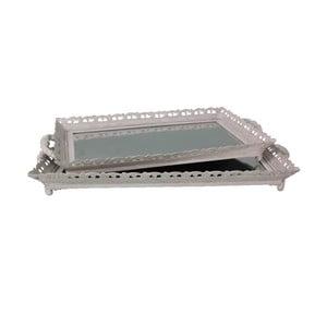 Sada 2 podnosů Antic Line Grey Mirror