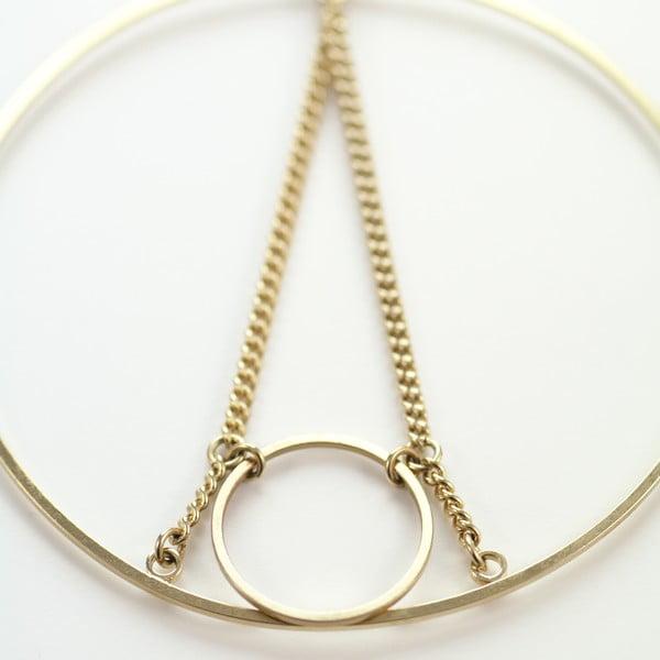 Náušnice Eiffel Hoop Gold