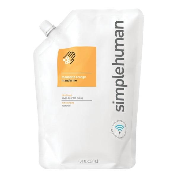 Hydratační tekuté mýdlo s vůní mandarinky simplehuman