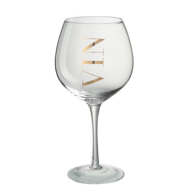 Sklenice na bílé víno J-Line Gold Elegance