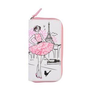 Bavlněná peněženka na zip Le Studio Parisienne