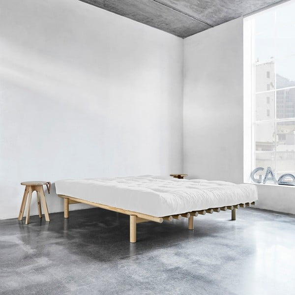 Rám postele z borovicového dřeva Karup Pace,180 x 200 cm