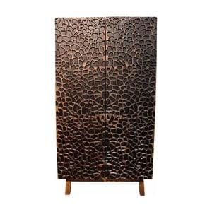 Dvoudveřová šatní skříň z mangového dřeva Støraa Gary