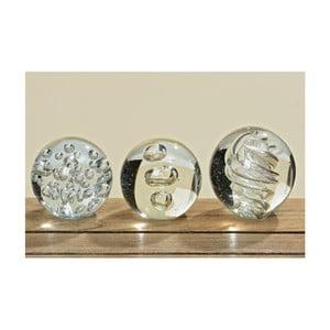 Set 3 mingii din sticlă pentru șervețele Boltze Clear