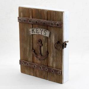 Nástěnná skříňka na klíče