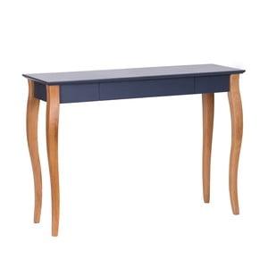 Grafitově šedý psací stůl Ragaba Lillo,délka105 cm