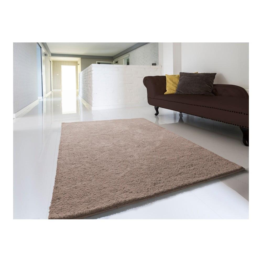 Produktové foto Hnědý koberec Universal Shanghai Liso, 200x290cm