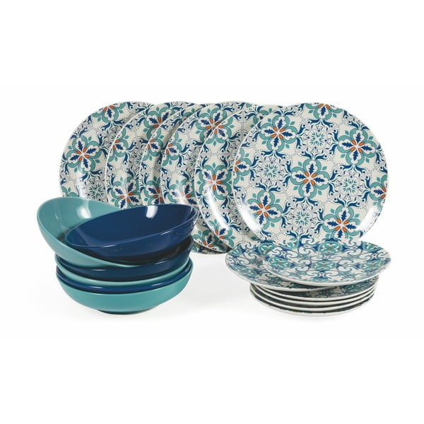 18 db-os porcelán étkészlet - Villa d'Este