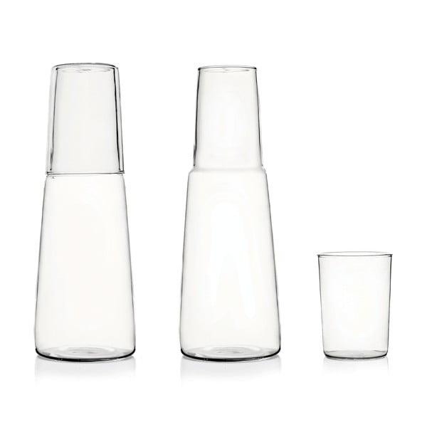 Skleněný set karafy a sklenice Torre