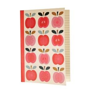 Zápisník Rex London Vintage Apple, vel. A5