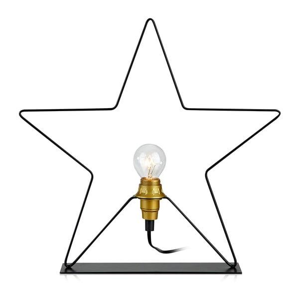 Světelná dekorace Markslöjd Rapp Star, výška 36cm