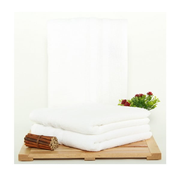 Sada 3 osušek Hidrophile White, 50x100 cm