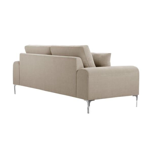 Canapea cu 3 locuri Corinne Cobson Dillinger, gri - bej