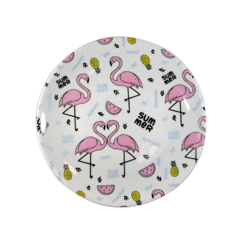Sada 2 porcelánových talířů Vivas Zigzag, Ø23cm