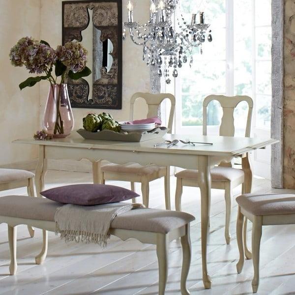 Rozkládací jídelní stůl Queen Anne, 120-150 cm