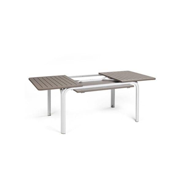 Rozkládací stůl Alloro 140 Extensible White/Tortora