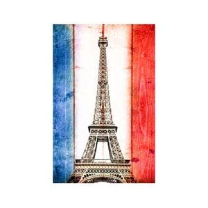 Obraz Pyšná Eiffelovka, 45x70 cm