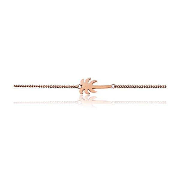 Brățară damă, inox Emily Westwood Palm, roz auriu