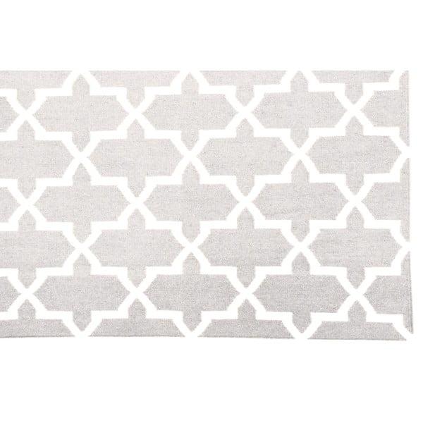 Ručně tkaný koberec Kilim Design One Sand, 160x230 cm