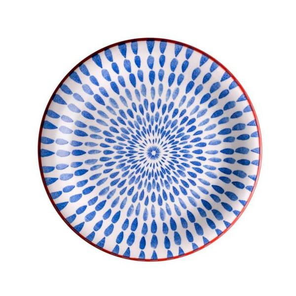 Farfurie Brandani Ginger, ⌀ 19,5 cm, albastru