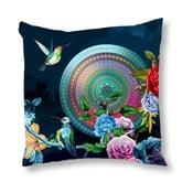 Oboustranný povlak na polštář z bavlněného saténu Muller Textiels Chachou, 50 x 50 cm