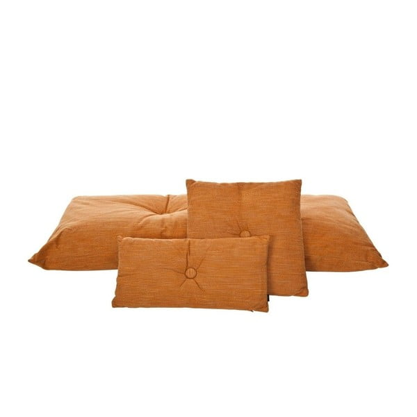 Polštář Bernie Orange, 50x50 cm